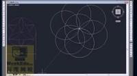 CAD环形阵列绘制图形