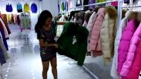 外贸品牌女装尾货批发,广州外贸羽绒服批发市场,欧版羽绒服,微信18520540746