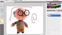 ps抠图教程 ps cs5教程3.13  利用【反向】命令选取图像