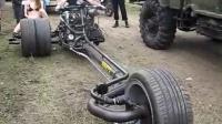 好炫酷的摩托车!