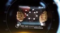 1276_ AE模板-手拿科技面板展示