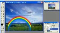 PS学习(家庭适用)实例29 为照片添加彩虹