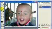 PS学习(数码加强)实例4 修复有污点的照片