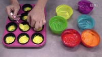 如何制作简单的彩虹蛋糕