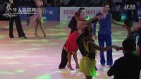 2015年中国体育舞蹈公开赛(洛阳站)A组新星组L复赛2伦巴【VIP】商哲浩 谢宛余