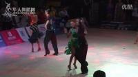 2015年中国体育舞蹈公开赛(洛阳站)21岁以下组A级L半决赛桑巴满儒霖 卢美余
