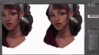 【PS手绘】超级卡通角色手绘实例训练视频教程第六期-dark skin_vidtutorial