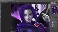 【PS手绘】超级卡通角色手绘实例训练视频教程第六期-raven_vidprocess