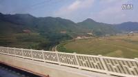 沈丹客专(高铁)丹东—沈阳 标杆D7620次全程运转视频  显示所有隧道名称