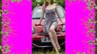 乌克兰美女车模写真