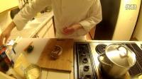 #优酷美食节#浩云厨房第六集-浩云教你做自制培根奶油意面