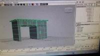 MAYA书桌建模变形器使用