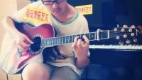 西安博乐艺术吉他学员方小舟指弹日本吉他大师南泽大介经典曲目
