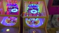 视频: 新款儿童快乐宝贝篮球机弹珠机游戏机投币游艺机拍拍乐