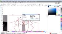 coreldraw实战教程CDRRX6视频教程UI篇-服饰UI图标设计