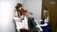 【Lemon】【舰队collection】アニメOP曲を金剛と島風で演奏してみた【海色】Anime Opening Song【Miiro】舰娘