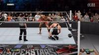 中国进军美国WWE,狂虐美国选手