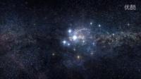 AE模板:4K电影分辨率银河星系星际穿梭科幻太空粒子星云大片宣传模版