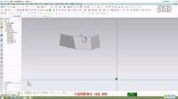 UGNX10.0教程21-倾斜面固定板设计_H264高清_1280x720