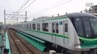 東京メトロ千代田線16000系16117F(4次車) 北綾瀬出庫