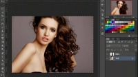 [PS]【基础精品】Photoshop基础教程PS调色PS人物美白ps入门教程PS快速选择工具