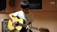 吉他公寓 顶级手工吉他日本制琴师HIRO EBATA试听 指弹《泪光闪闪》
