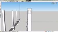 sketchup8基础教程——景观廊架