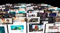 多图片简洁优雅图片展示ae模板
