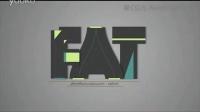 089二十六个英文字母的图形动画AE源文件,4款入