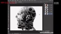 PS教程视频78 PS计算:机器人头  部落窝