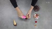 如何制作一个倒立的冰淇淋蛋糕