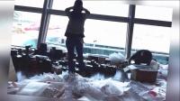猪头传媒 2015 10月 中国游客在韩国疯狂扫货 登机口遍地化妆品 151008
