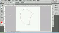 平面设计PS CS5视频教程第二章   多边形套索工具第一讲