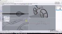 犀牛(Rhino)建模教学视频第十一节——自行车建模(下)