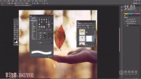[PS]photoshop教程ps抠图教程PS课程ps基础教程PS创意合成树叶变蝴蝶