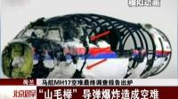 """荷兰:马航MH17空难最终调查报告出炉——""""山毛榉""""导弹爆炸造成空难 北京您早 151014"""