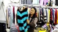毛毛毛衣品牌折扣秋冬走份批200件外贸原单尾货秋冬货工厂订单剩余未出的货