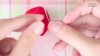 [微信:icaizhila]彩织啦不织布系列视频教程:草莓