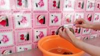 用顺美净洗完衣服的水刷鞋子