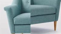 北欧宜家小户型客厅欧式休闲布艺沙发