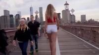 全美最长腿女孩,私照晒玉腿刷新最长腿纪录