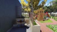 芳心草园艺_成都后花园庭院设计案例 屋顶花园设计_别墅花园设计_私家花园设计