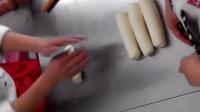 制作毛毛虫面包过程~