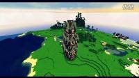【甄忆嘉】Minecraft 我的世界建筑观赏 - 大型中世纪建筑,塔和墙