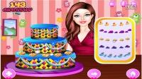 芭比娃娃之梦想豪宅小游戏:制作生日蛋糕★卤肉小游戏★