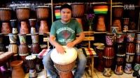 伍唐手鼓--非洲鼓master13寸蓝色翻皮(中东风格伴奏)DSC_3404