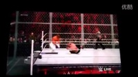 WWE 2K16 ROLLINS VS JOHN CENA ps3 xbox360平台