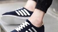 秋季板鞋棉鞋男鞋子阿甘运动男士休闲豆豆韩版潮流皮鞋潮鞋跑步鞋