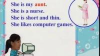 小学英语优质课教学视频 My Family(米晓丽)