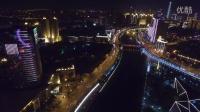 航拍比赛-天津海河夜景